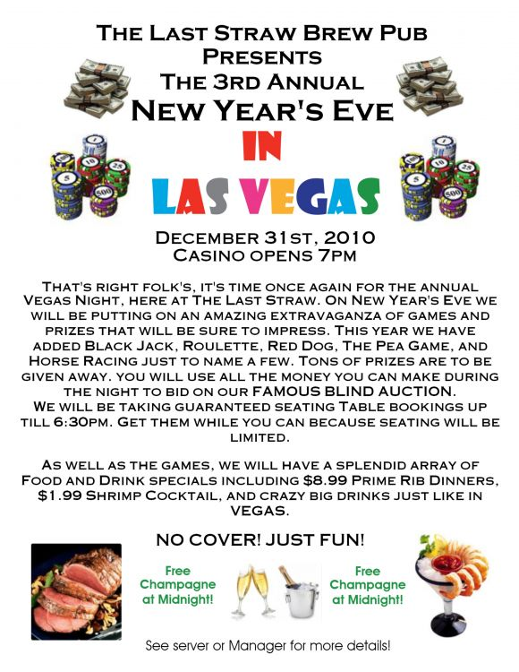 3rd ANNUAL NEW YEAR'S EVE IN VEGAS