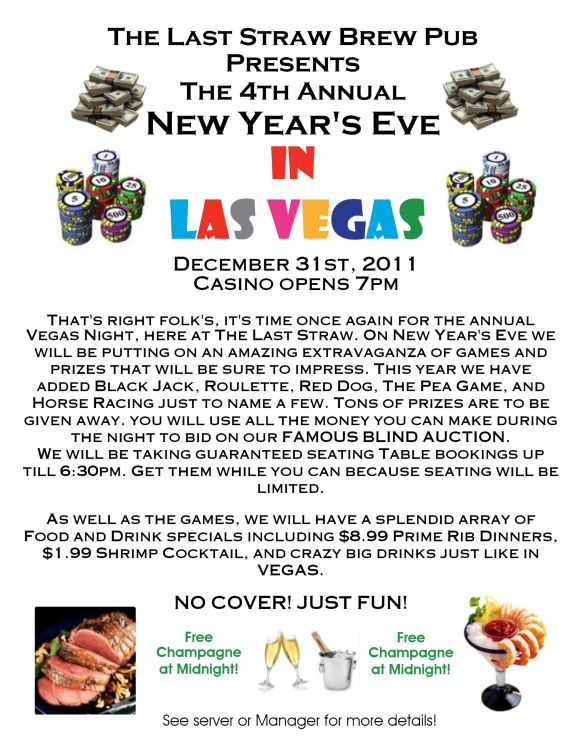 4th Annual New Years Vegas Style