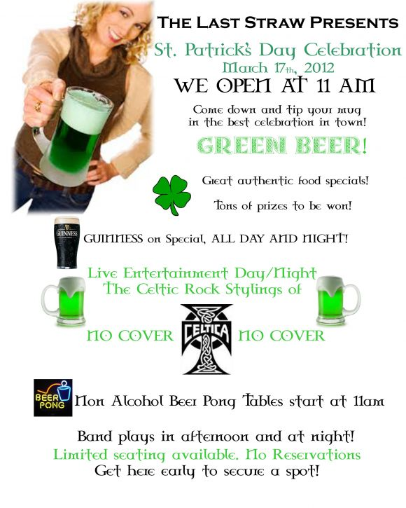 St Patricks Day BLAST!!!